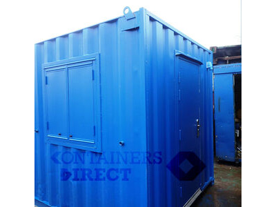 Shipping Container Conversions 24ft open plan office