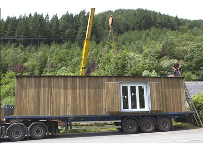 Shipping Container Conversions 40ft garden centre shop