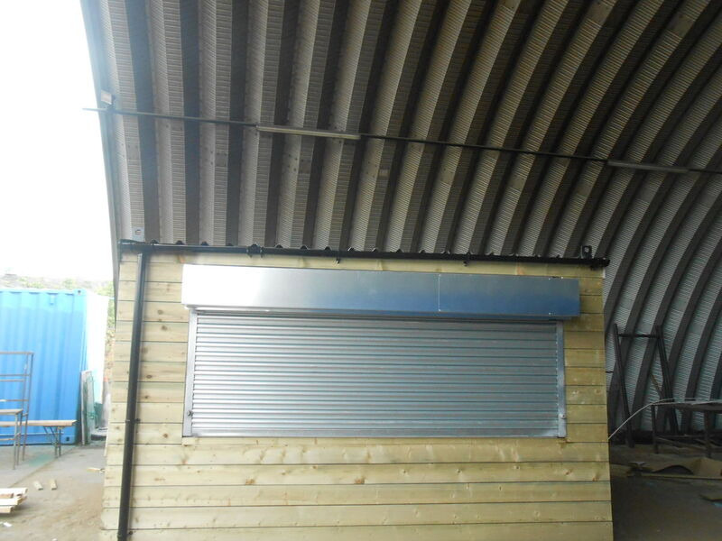 CONTAINER CONVERSION CASE STUDIES 13ft x 9ft tuck shop CS16196 click to zoom image