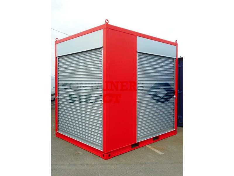 CONTAINER CONVERSION CASE STUDIES 10ft exhibition stand CS39297 click to zoom image