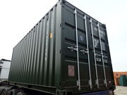 ONCE USED SHIPPING CONTAINERS