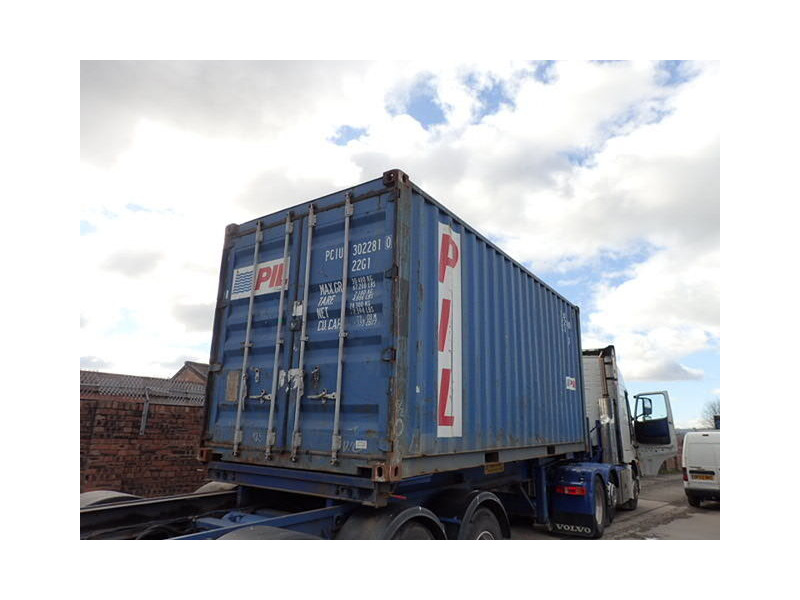 SHIPPING CONTAINERS 20ft ISO PCIU3022810 click to zoom image
