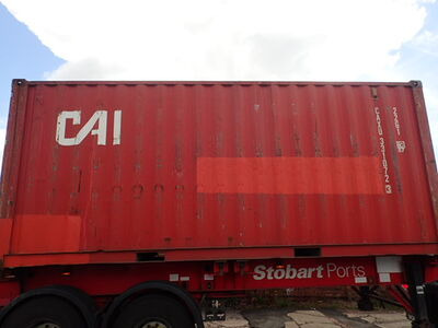 SHIPPING CONTAINERS 20ft ISO 37201 click to zoom image