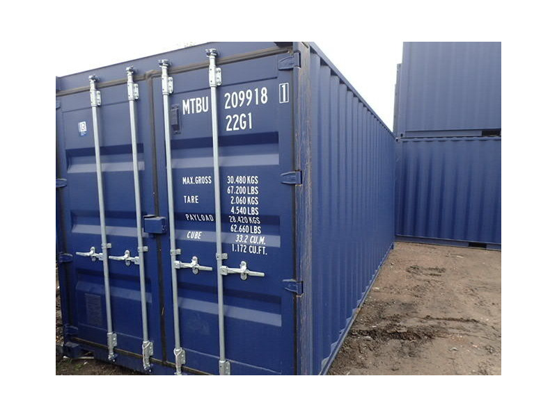 SHIPPING CONTAINERS 20ft ISO 56794 click to zoom image