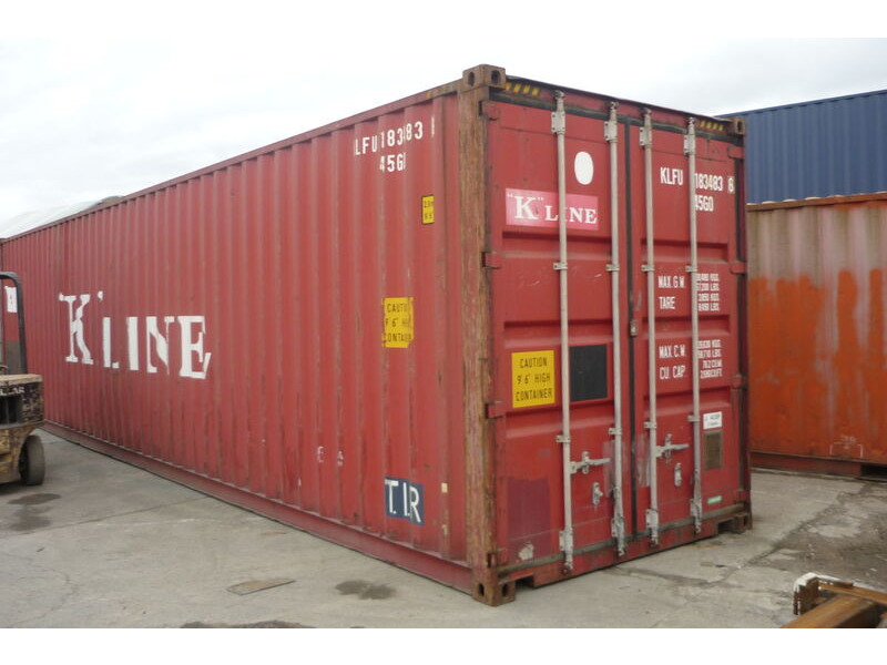 SHIPPING CONTAINERS 40ft ISO 43393 click to zoom image