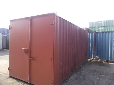 SHIPPING CONTAINERS 15ft S1 doors 30716