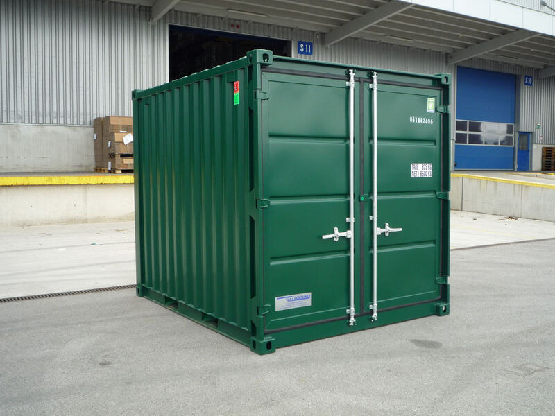 SHIPPING CONTAINERS 10ft steel store CX10 Grays click to zoom image