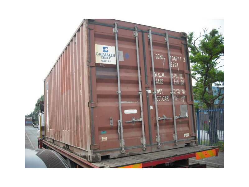 SHIPPING CONTAINERS 20ft ISO 19584 click to zoom image