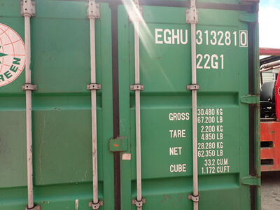 SHIPPING CONTAINERS 23ft ISO 61143