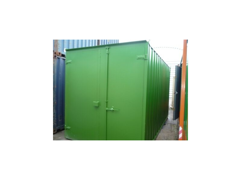 SHIPPING CONTAINERS 15ft S1 doors 46158 click to zoom image