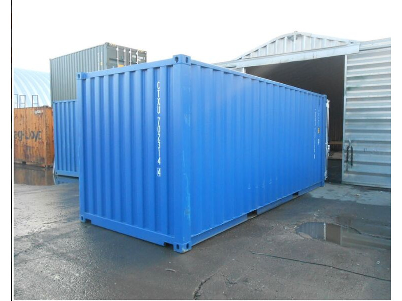 SHIPPING CONTAINERS 20ft ply lined and insulated 19622 click to zoom image