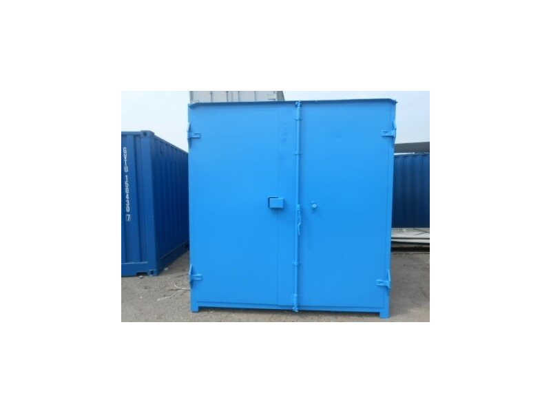 SHIPPING CONTAINERS 10ft S1 doors 23301 click to zoom image