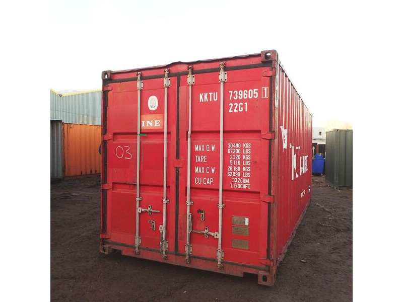 SHIPPING CONTAINERS 20ft ISO 44101 click to zoom image