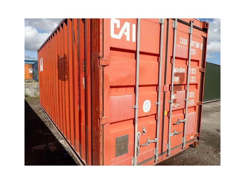 SHIPPING CONTAINERS 20ft S2 doors 64360 click to zoom image