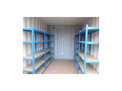 SHIPPING CONTAINERS 20ft S2 with grafotherm, shelving and electrics