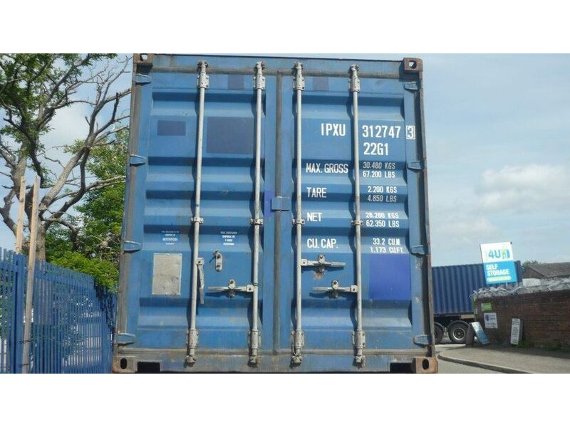 SHIPPING CONTAINERS 20ft ISO 19920 click to zoom image