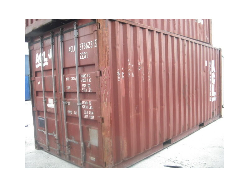 SHIPPING CONTAINERS 20ft ISO 19921 click to zoom image