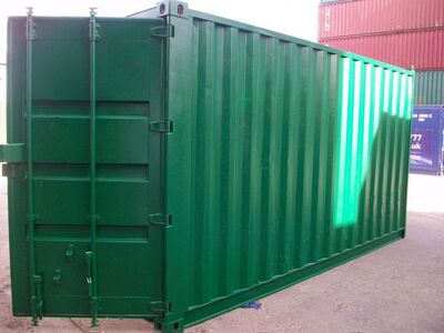 SHIPPING CONTAINERS 16ft S2 doors 20073