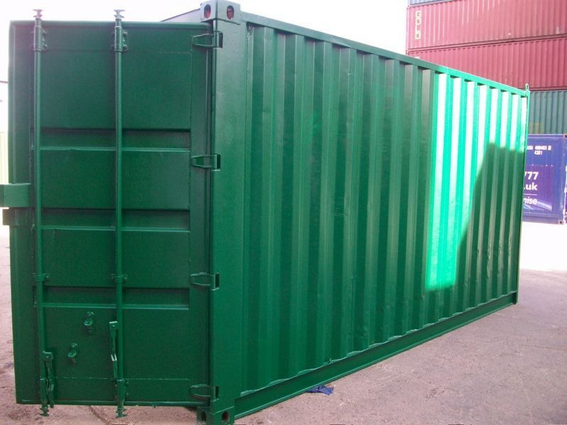 SHIPPING CONTAINERS 16ft S2 doors 43165 click to zoom image