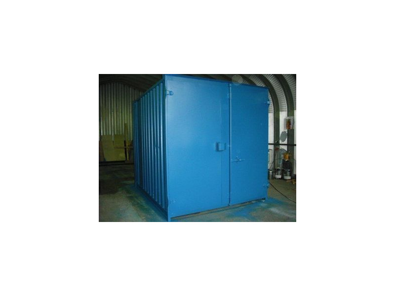 SHIPPING CONTAINERS 10ft S1 doors 44043 click to zoom image