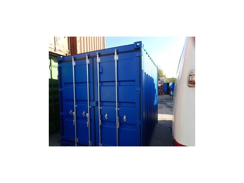 SHIPPING CONTAINERS 8ft S2 doors 26376 click to zoom image