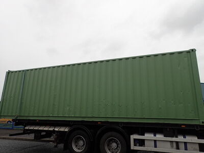 SHIPPING CONTAINERS 30ft S3 doors, repainted click to zoom image