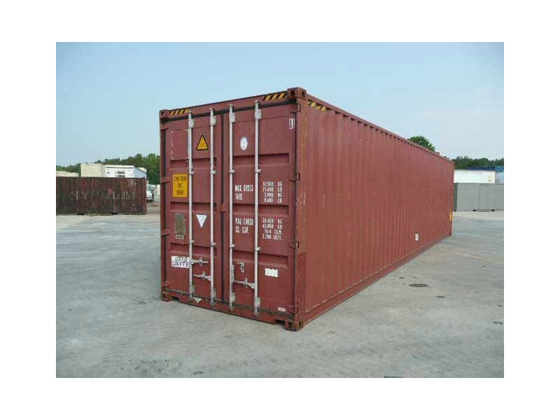 SHIPPING CONTAINERS 40ft high cube 63215 click to zoom image