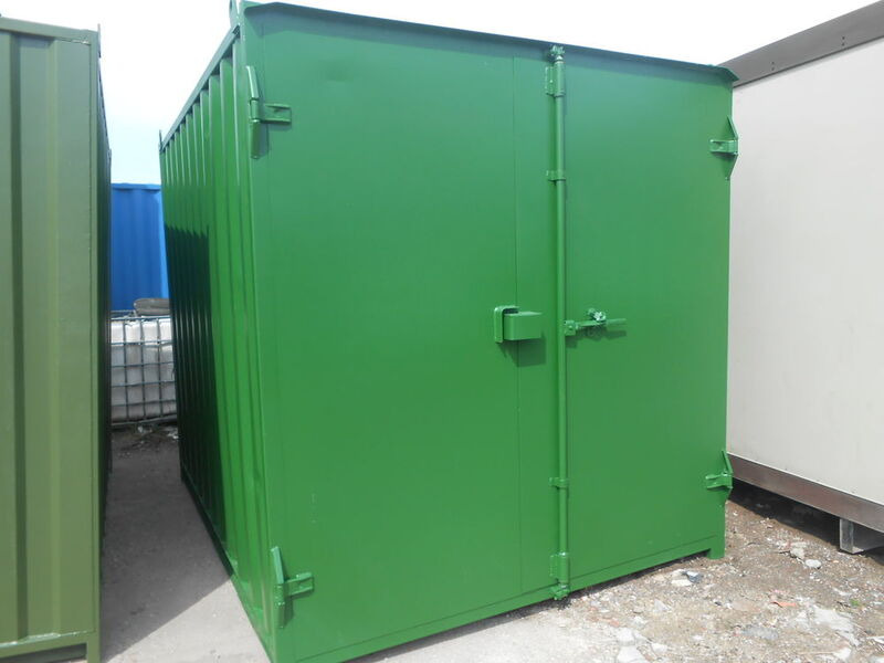 SHIPPING CONTAINERS 16ft S1 doors 63326 click to zoom image