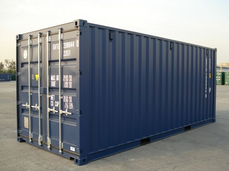 SHIPPING CONTAINERS 20ft original doors 21307 click to zoom image