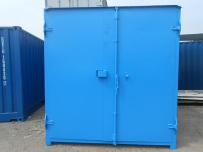 SHIPPING CONTAINERS 15ft S1 doors