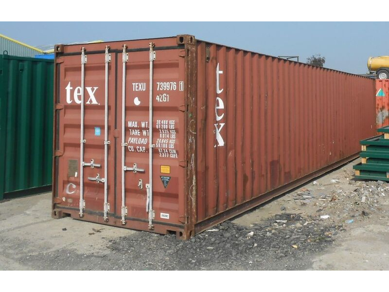 SHIPPING CONTAINERS 40ft ISO 46142 click to zoom image