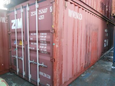 SHIPPING CONTAINERS 40ft ISO 21739