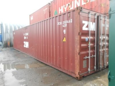 SHIPPING CONTAINERS 40ft ISO 23737