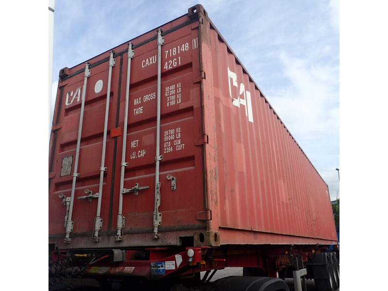 SHIPPING CONTAINERS 40ft ISO 43545 click to zoom image