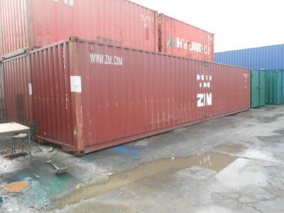 SHIPPING CONTAINERS 40ft ISO 23736
