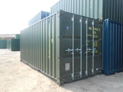 SHIPPING CONTAINERS 20ft ISO 24939