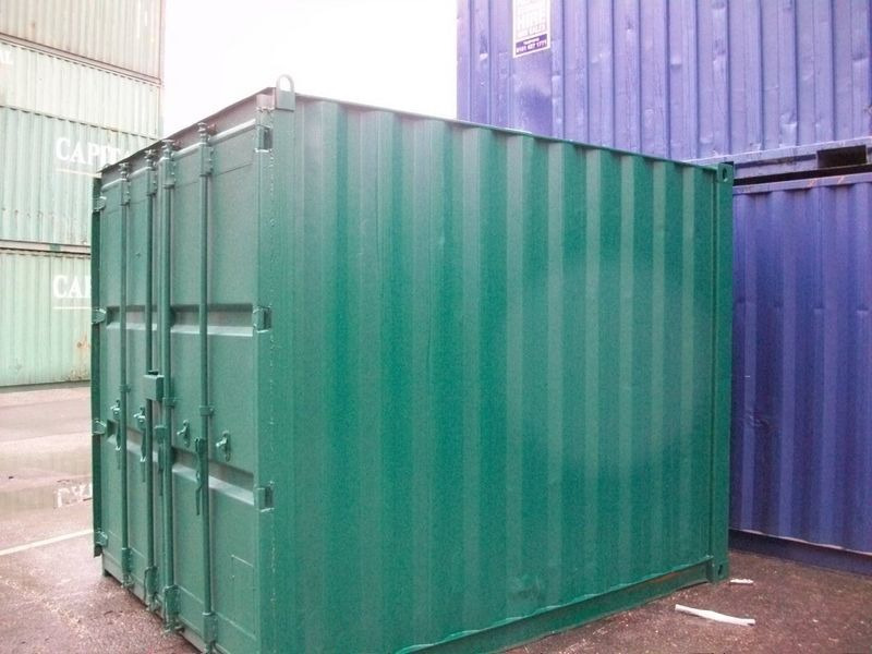 SHIPPING CONTAINERS 10ft S2 doors 45877 click to zoom image