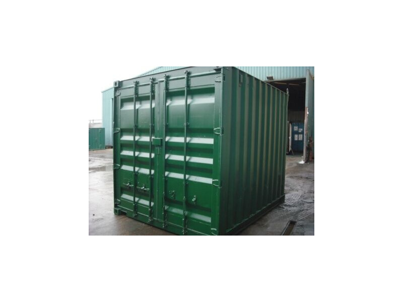SHIPPING CONTAINERS 10ft S2 doors 34053 click to zoom image