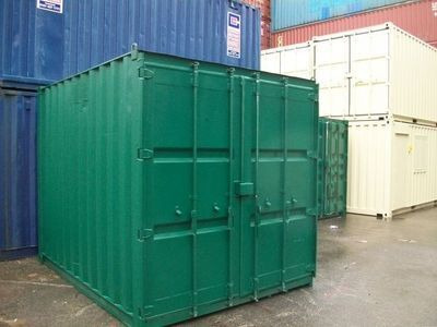 SHIPPING CONTAINERS 10ft S2 doors 44394