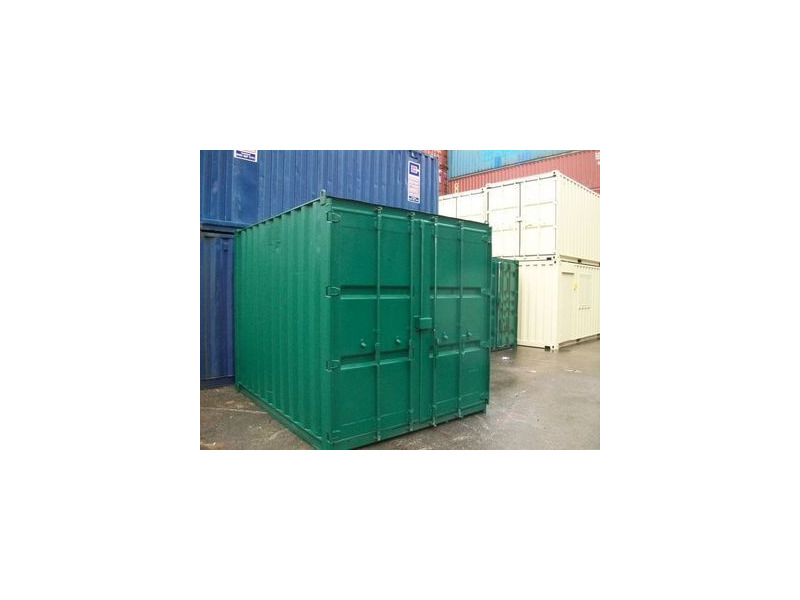 SHIPPING CONTAINERS 10ft S2 doors 44394 click to zoom image