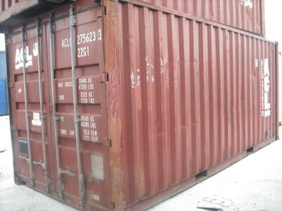 SHIPPING CONTAINERS 20ft ISO 31047