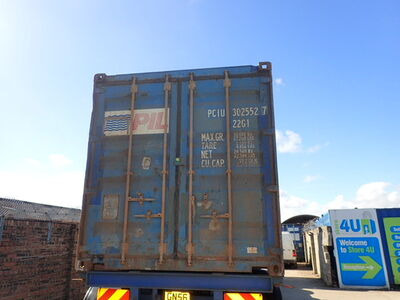 SHIPPING CONTAINERS 20ft ISO PCIU3025527 click to zoom image