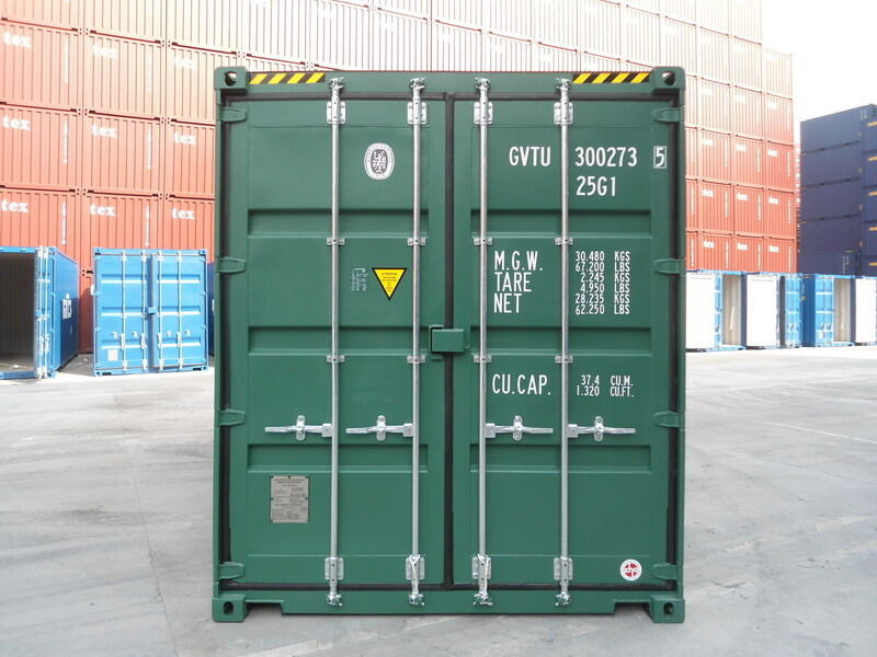 SHIPPING CONTAINERS 15ft high cube - S2 Doors click to zoom image
