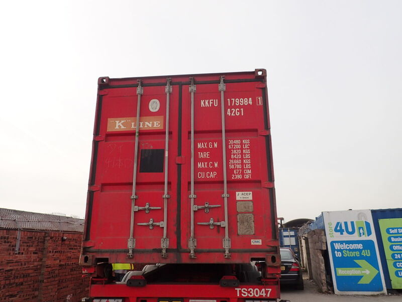 SHIPPING CONTAINERS 40ft original 40242 click to zoom image
