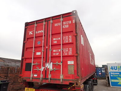 SHIPPING CONTAINERS 40ft ISO 27934