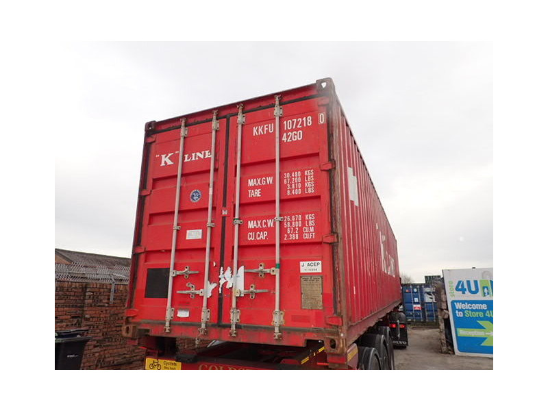 SHIPPING CONTAINERS 40ft ISO 65629 click to zoom image