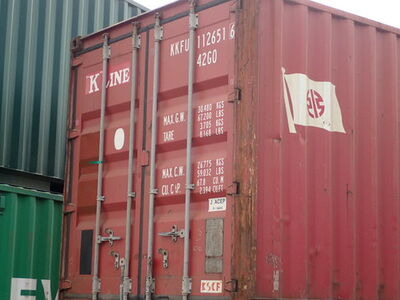 SHIPPING CONTAINERS 40ft ISO 64101 click to zoom image