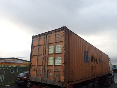 SHIPPING CONTAINERS 40ft original 26718