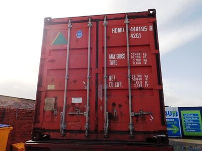 SHIPPING CONTAINERS 40ft ISO 34969