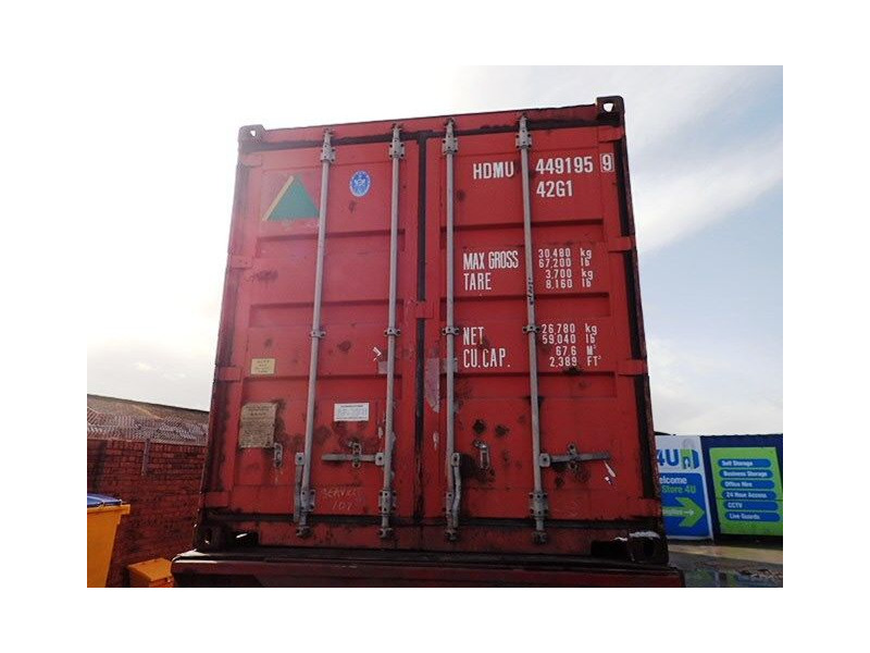 SHIPPING CONTAINERS 40ft ISO 34969 click to zoom image